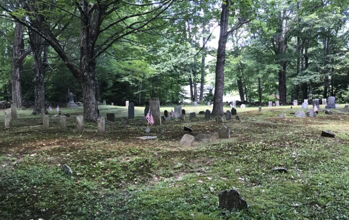 Camp Hil Cemetery in Lebanon Maine