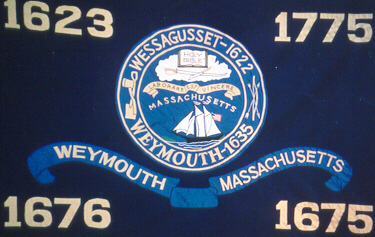 Weymouth Massachusetts Flag
